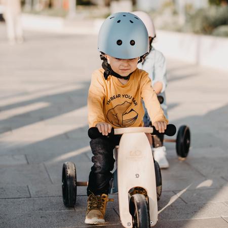 Immagine di Kinderfeets® Casco per bambini Matte Slate Blue (18+m)