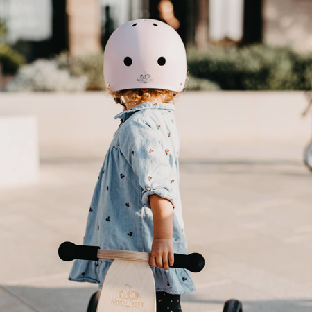 Immagine di Kinderfeets® Casco per bambini Matte Rose (18+m)