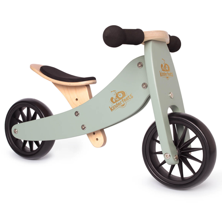 Kinderfeets® Bici senza pedali Tiny Tot 2v1 Sage
