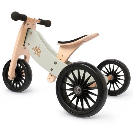 Kinderfeets® Bici senza pedali Tiny Tot Plus 2in1 Silver Sage