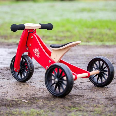 Immagine di Kinderfeets® Bici senza pedali Tiny Tot 2v1 Cherry Red