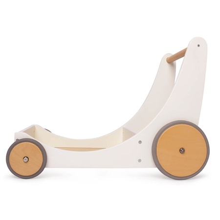 Immagine di Kinderfeets® Carrello per le bambole e per camminare White