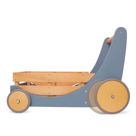 Kinderfeets® Carrello per le bambole e per camminare Slate Blue
