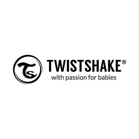 Twistshake® Due bavaglini Pastel Black&White (4+m)