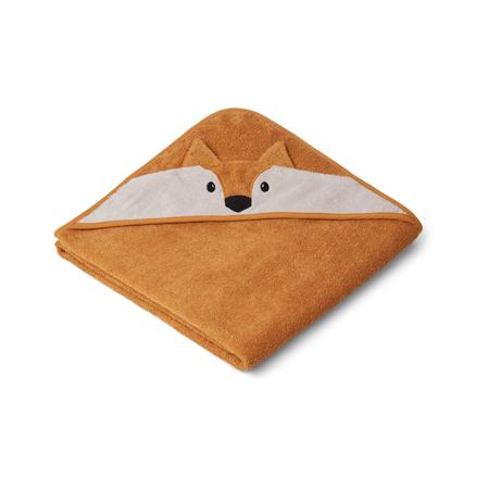 Immagine di Liewood® Asciugamano con cappuccio Fox Mustard 100x100