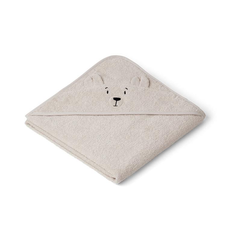 Immagine di Liewood® Asciugamano con cappuccio Polar Bear Sandy 100x100