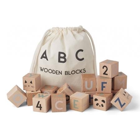Immagine di Liewood® Cubi in legno Lars