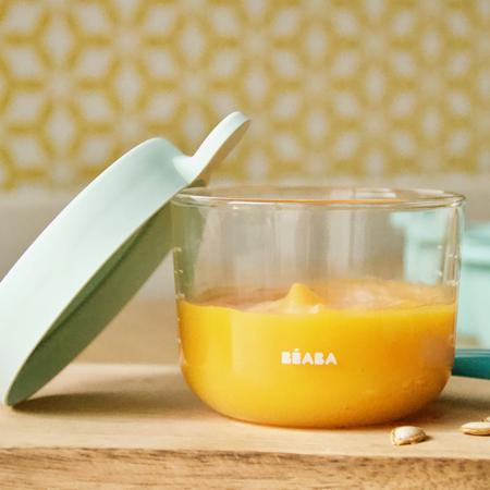 Immagine di Beaba® Contenitore per alimenti in vetro 150ml Grey
