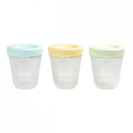 Immagine di Beaba® Set di 3 contenitori per alimenti 3x200ml Spring