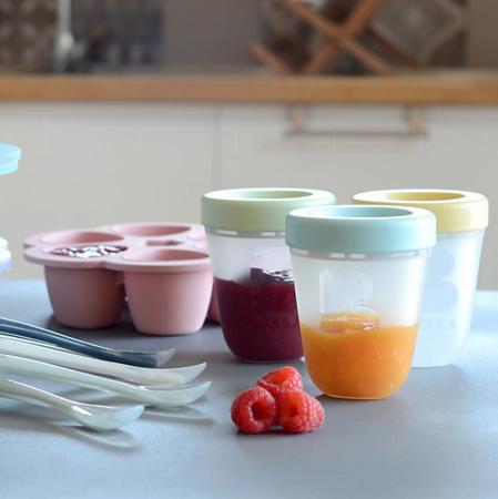 Immagine di Beaba® Set di 3 contenitori per alimenti 3x200ml Jungle