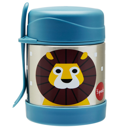 Immagine di 3Sprouts® Contenitore thermos cucchiaio/forchetta leone