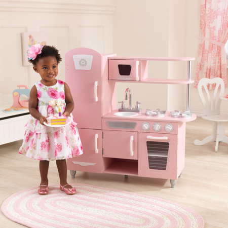 KidKraft®  Cucina giocattolo Vintage Pink/White