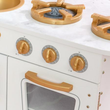 Immagine di KidKraft® Cucina giocattolo Vintage White/Gold