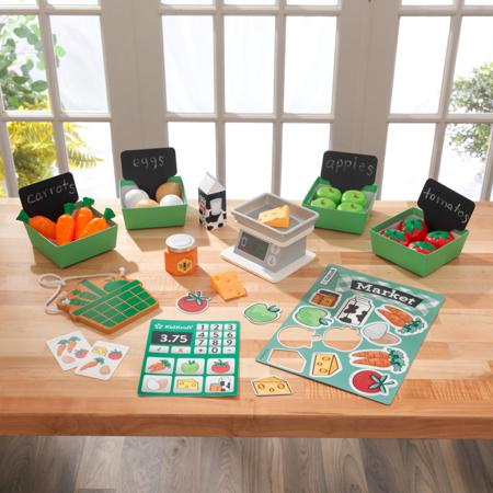 KidKraft® Set giocattolo Farmer's Market