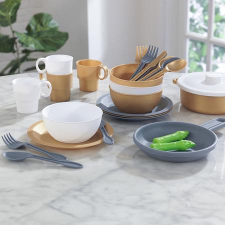 Immagine di KidKraft® Set da cucina  27 pezzi Modern Metallics