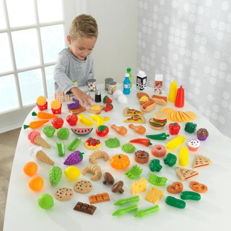 KidKraft® Set cibo giocattolo Deluxe Tasty Treats 115 pezzi