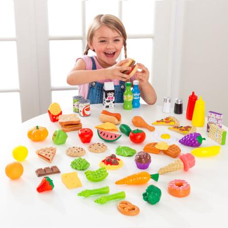 KidKraft® Set di cibo giocattolo 65 pezzi