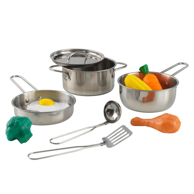 Immagine di KidKraft® Set di accessori da cucina con cibo Deluxe