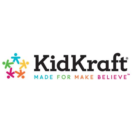 Immagine di KidKraft® Unita con scaffali bianchi Natural/White