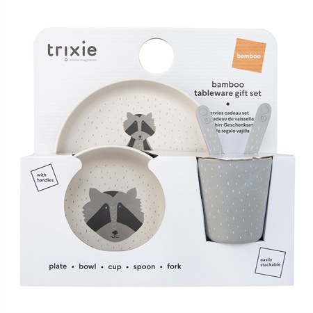 Immagine di Trixie Baby® Set pappa Mr. Raccoon