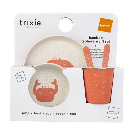 Immagine di Trixie Baby® Set pappa Mrs. Crab