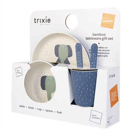 Immagine di Trixie Baby® Set pappa Mrs. Elephant