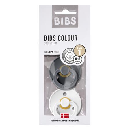 Immagine di Bibs® Ciuccio Iron & White 1 (0-6m)