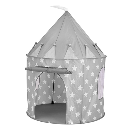 Kids Concept® Tenda Play Star Grey