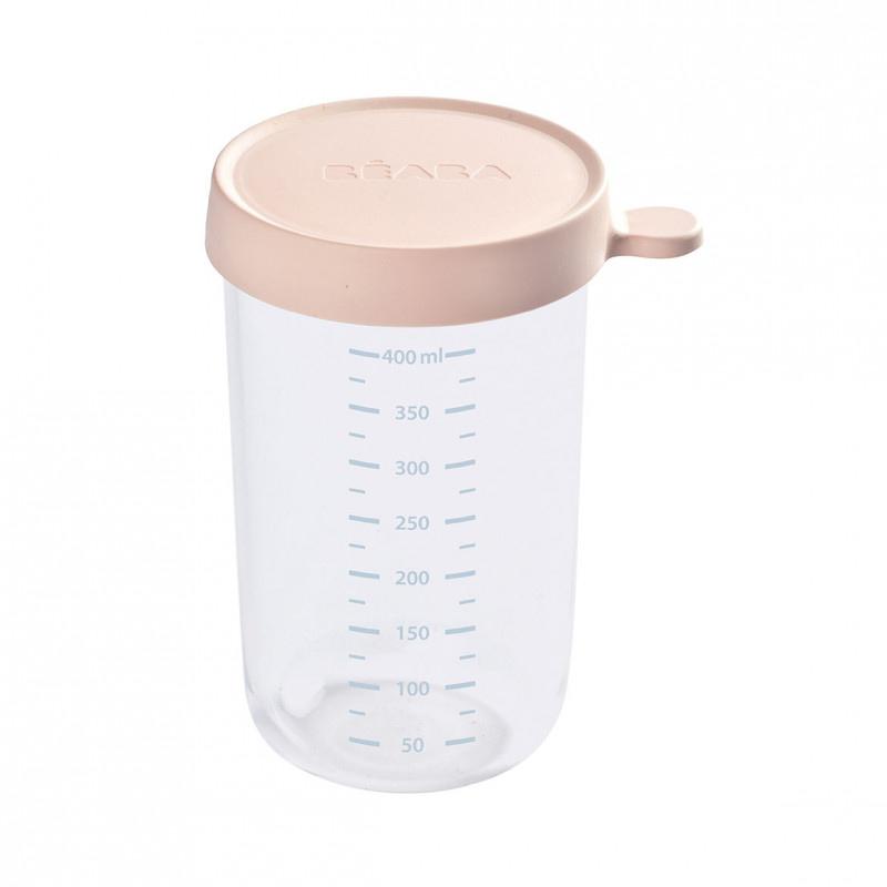 Immagine di Beaba® Contenitore per alimenti in vetro 400ml Pink