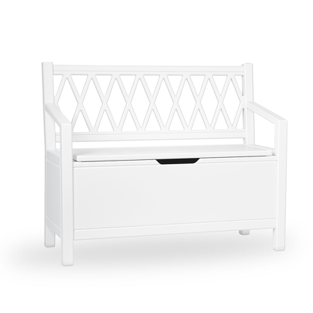 Immagine di CamCam® Panchina portaoggetti  White