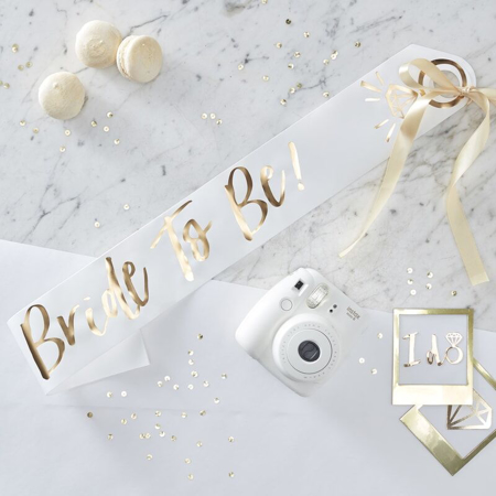 Immagine di Ginger Ray® Cintura nastro Bride To Be
