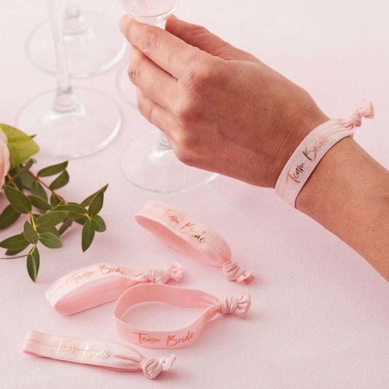 Immagine di Ginger Ray® Braccialetti elastici Team Bride
