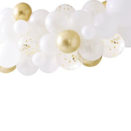 Ginger Ray®Set  Arco palloncini Gold Chrome