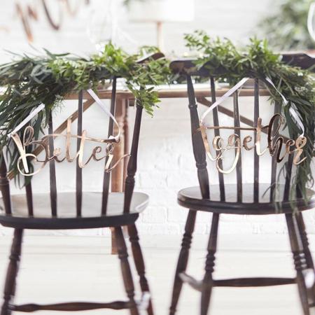 Immagine di Ginger Ray® Decorazione sedia Better Together
