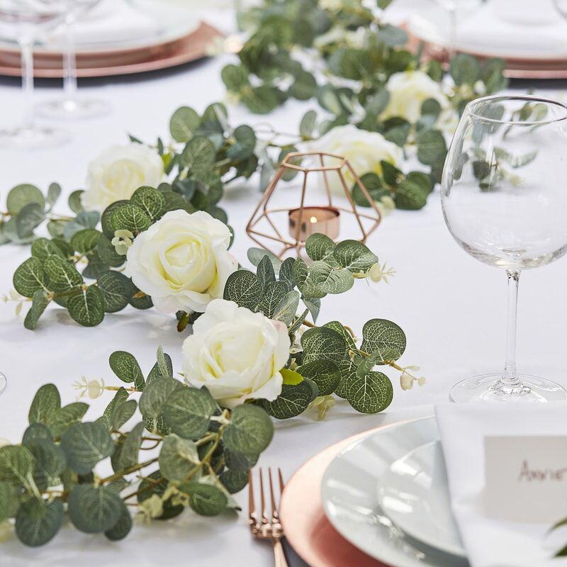 Immagine di Ginger Ray® Ghirlanda Rose decorative