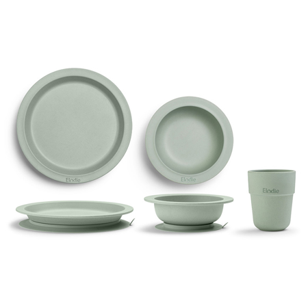 Immagine di Elodie Details® Set pappa bamboo Mineral Green