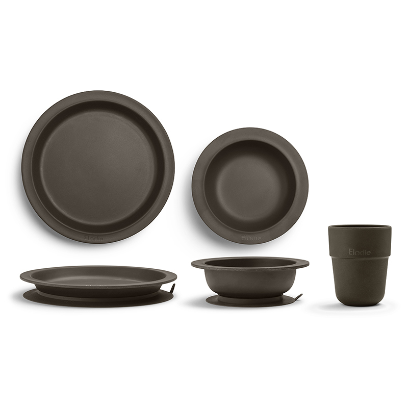 Immagine di Elodie Details® Set pappa bamboo Chocolate