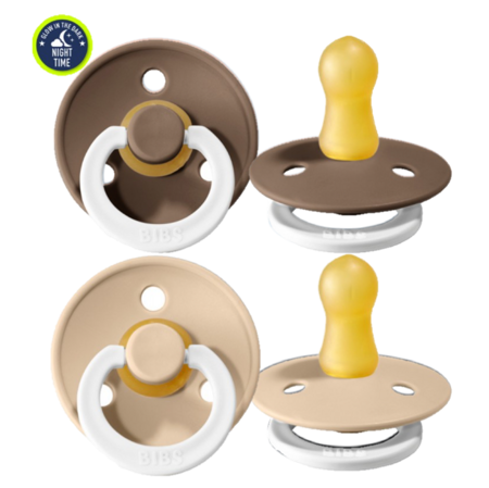 Immagine di Bibs® Ciuccio Night Dark Oak & Vanilla 1 (0-6m)