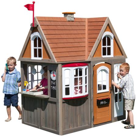 KidKraft® Casetta da giardino per bambini Greystone Cottage