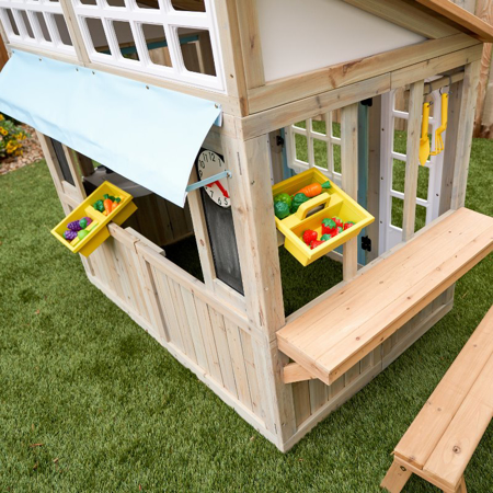Immagine di  KidKraft® Casetta da giardino per bambini Meadowlane Market