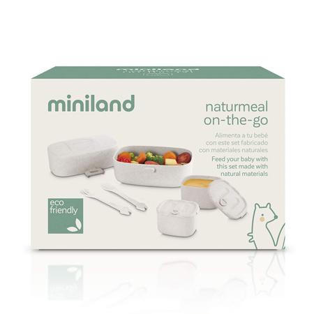 Immagine di Miniland® Set pappa Naturmeal On The Go