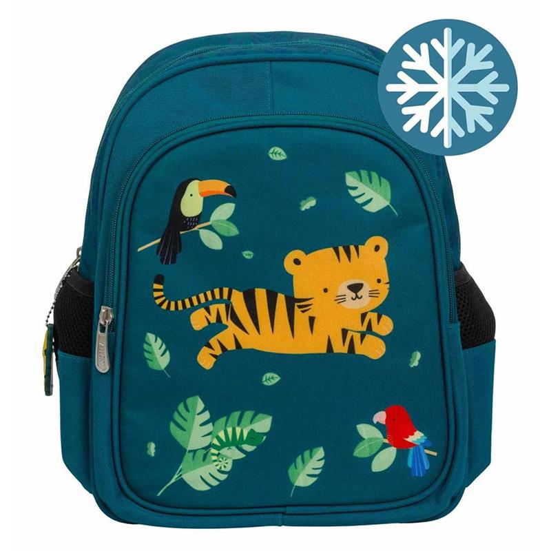 Immagine di A Little Lovely Company® Zaino con tasca termica Jungle Tiger