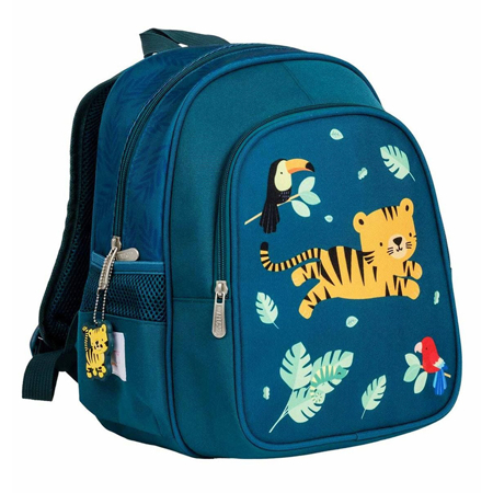 A Little Lovely Company® Zaino con tasca termica Jungle Tiger