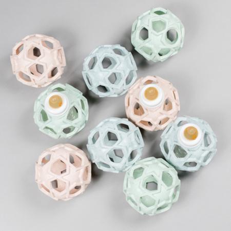Immagine di Hevea® Biberon con la pallina caucciù 120ml Upcycled Mint