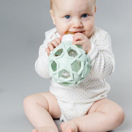 Immagine di Hevea® Biberon con la pallina caucciù 120ml  Upcycled Blue