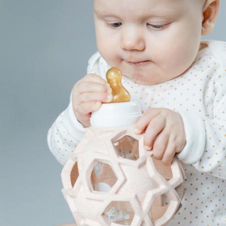 Immagine di Hevea® Biberon con la pallina caucciù 120ml Upcycled Peach