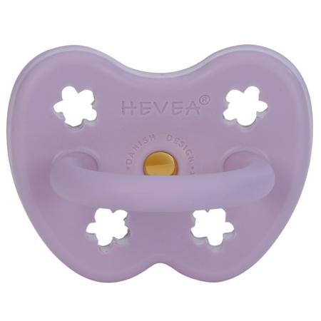 Immagine di Hevea® Ciuccio ortodontico in caucciù Colourful (3-36m)  Lavander