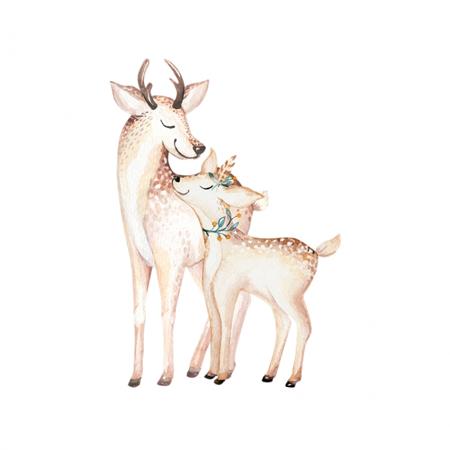Immagine di Yokodesign® Adesivo da parete  Betulle & Amici della foresta
