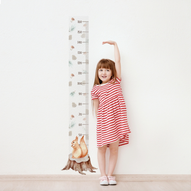Immagine di Yokodesign®  Adesivo da parete metro Scoiattolo
