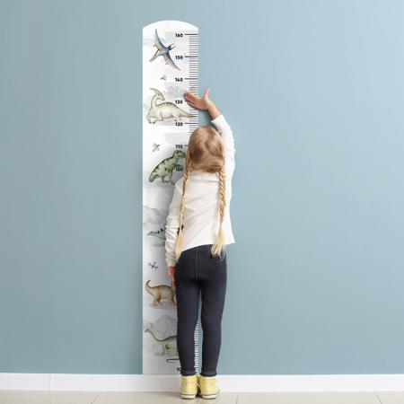 Immagine di Yokodesign®  Adesivo da parete metro Dinosauri
